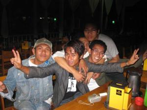 La bande de jeunes